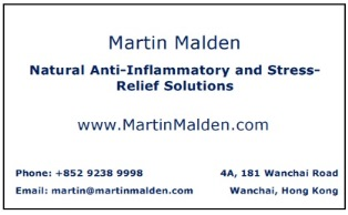 Martin Malden business card